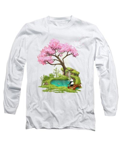 Anjing II - The Zen Garden Long Sleeve T-Shirt