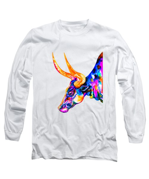 Ankole Longhorn Long Sleeve T-Shirt