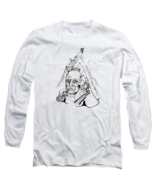Anna Tylkina Long Sleeve T-Shirt by Yelena Tylkina