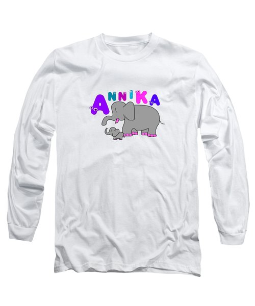 Annika Tshirt Size 1 Long Sleeve T-Shirt