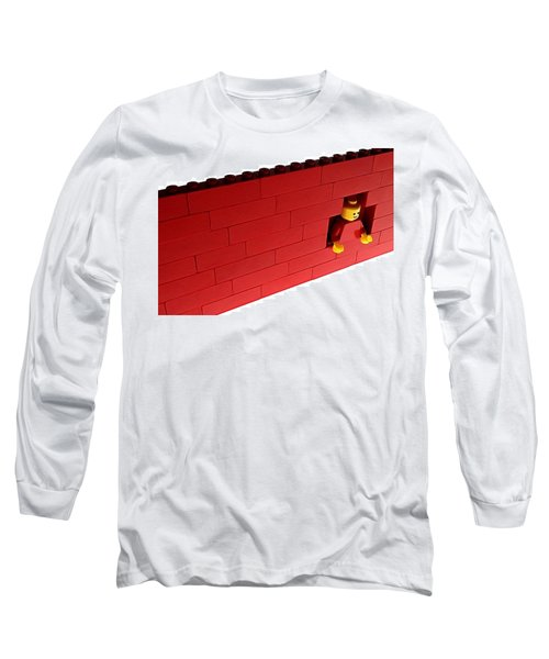 Another Brick In The Wall Long Sleeve T-Shirt by Mark Fuller