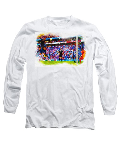 Another One Down..another One Bite The Dust Long Sleeve T-Shirt