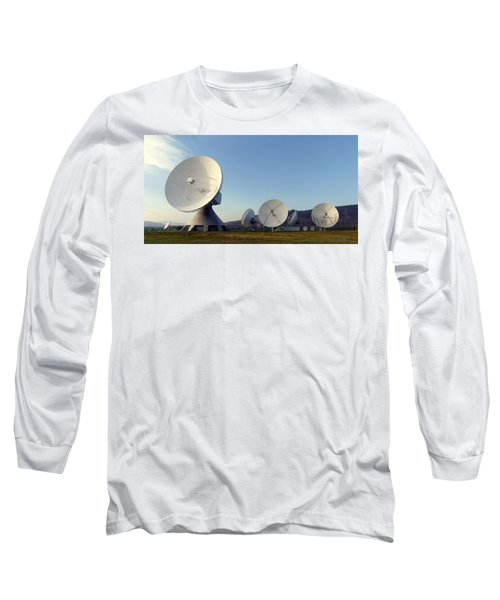 Antenna Array 2 Of The Earth Station  Long Sleeve T-Shirt