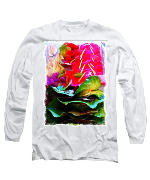 Anthurium  Long Sleeve T-Shirt