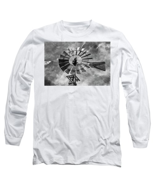Long Sleeve T-Shirt featuring the photograph Anticipation by Stephen Stookey