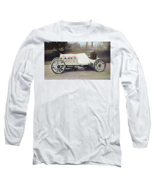 Antique Fiat Racer Dop Long Sleeve T-Shirt