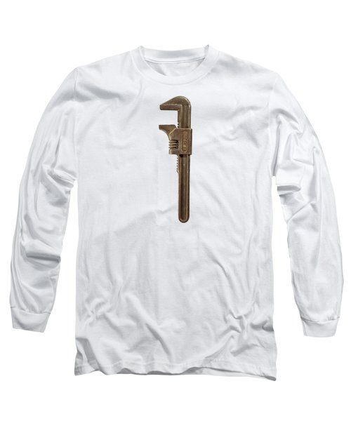 Antique Ford Adjustable Wrench Long Sleeve T-Shirt