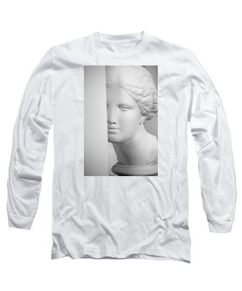 Long Sleeve T-Shirt featuring the photograph Antique Sculpture by Andrey  Godyaykin