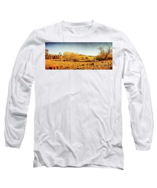 Antique Weathered Countryside Long Sleeve T-Shirt