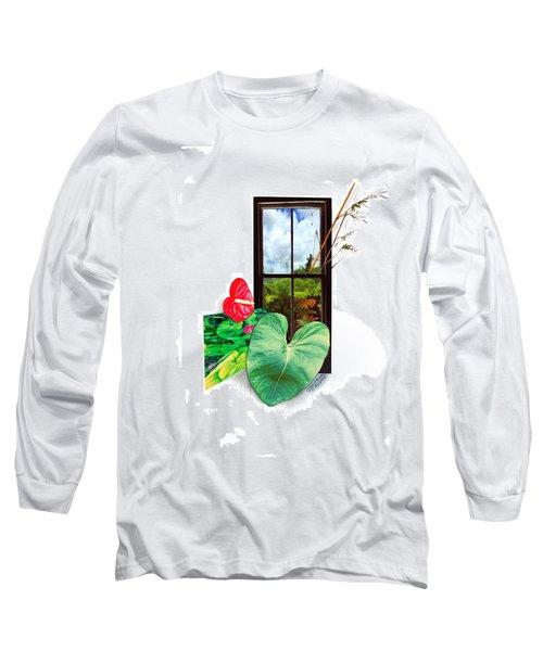 Anthurium 2 Long Sleeve T-Shirt
