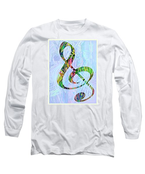 Any Kind Of Music Will Do Long Sleeve T-Shirt by Mindy Newman