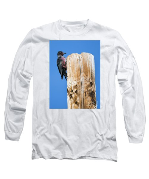 Any Tree Will Do Long Sleeve T-Shirt by Mike Dawson