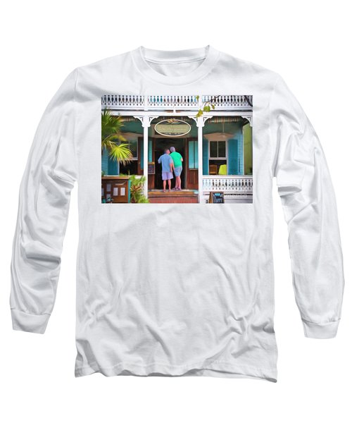 Anybody Home Long Sleeve T-Shirt by Judy Kay