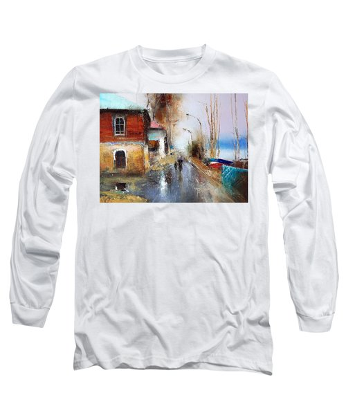 April. The River Volga Long Sleeve T-Shirt