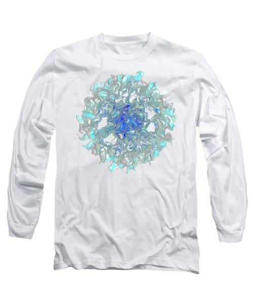 Aqua Art By Kaye Menner Long Sleeve T-Shirt by Kaye Menner