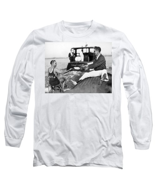 Aquaplane Record Attempt Long Sleeve T-Shirt
