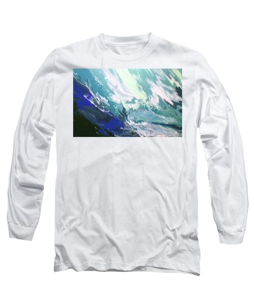 Long Sleeve T-Shirt featuring the painting Aquaria by William Love