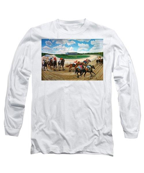 Aqueduct Racetrack Long Sleeve T-Shirt