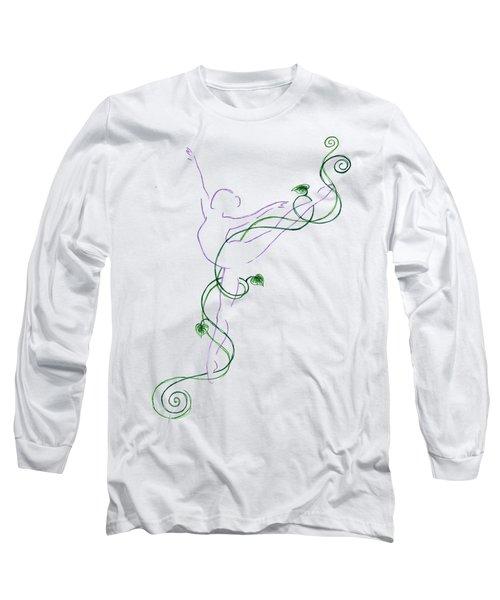 Arabesque IIi - Transparent Background Long Sleeve T-Shirt