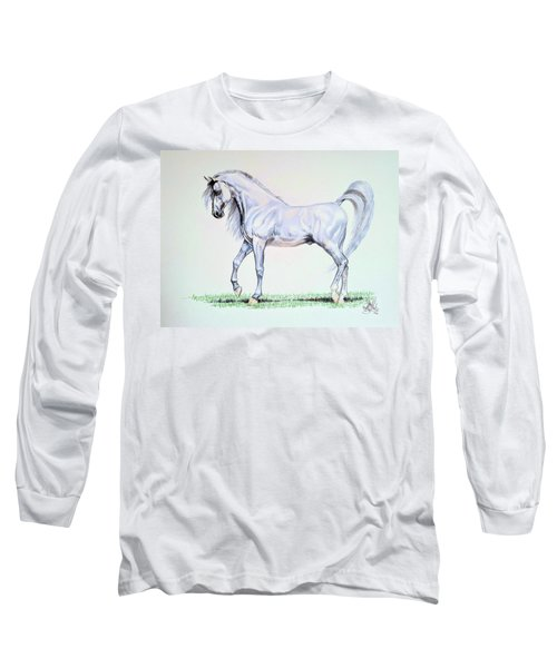Arabian Stallion  Long Sleeve T-Shirt