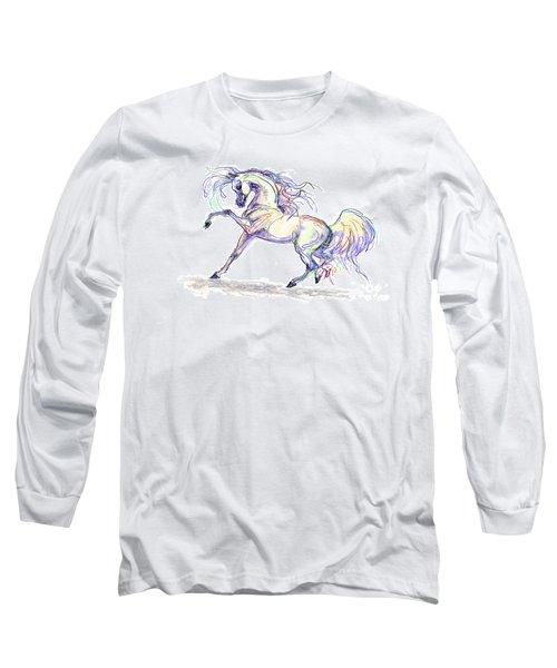 Arabian Stallion Talk Long Sleeve T-Shirt