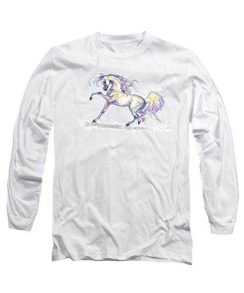 Arabian Stallion Talk Long Sleeve T-Shirt