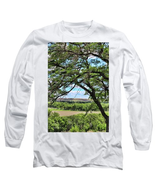 Arbor Vista Long Sleeve T-Shirt by Sylvia Thornton