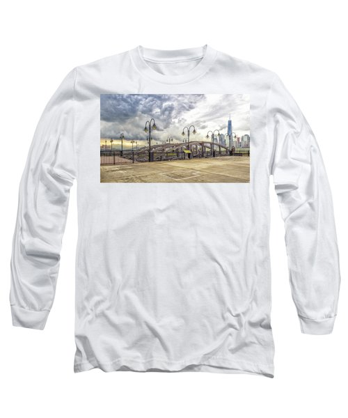 Arc To Freedom One Tower Image Art Long Sleeve T-Shirt