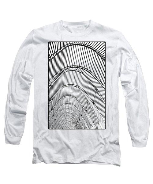 Arch Geometry Long Sleeve T-Shirt