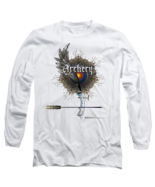 Archery Bow Wing Long Sleeve T-Shirt
