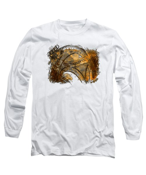 Arches Abound Earthy 3 Dimensional Long Sleeve T-Shirt