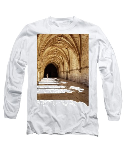 Arches Of Jeronimos Long Sleeve T-Shirt