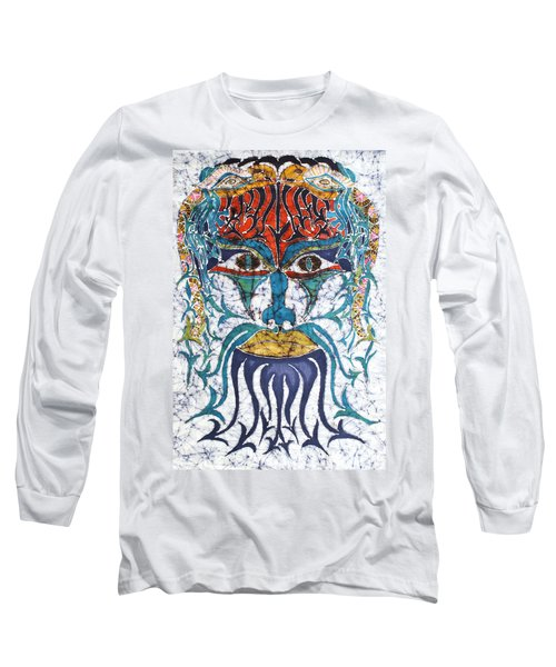 Archetypal Mask Long Sleeve T-Shirt