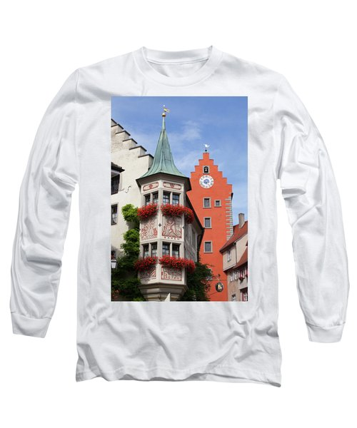 Architectural Details In Old City Long Sleeve T-Shirt