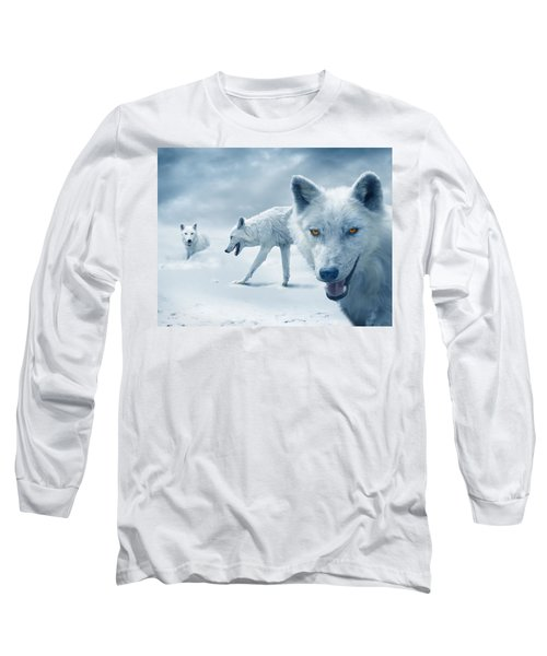 Arctic Wolves Long Sleeve T-Shirt