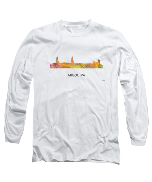 Arequipa Peru Skyline Long Sleeve T-Shirt