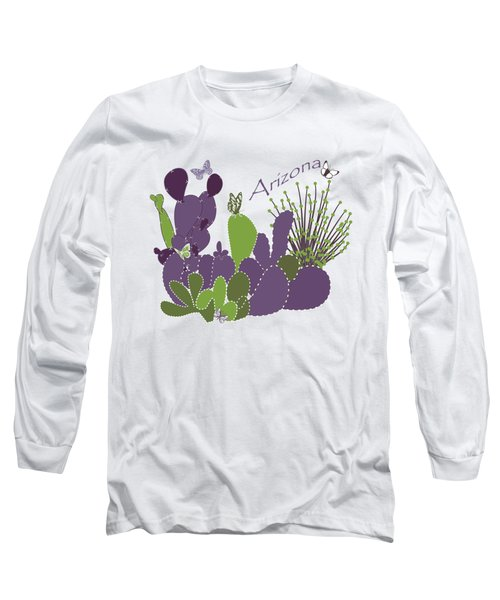 Arizona Cacti Long Sleeve T-Shirt