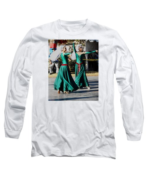 Armenian Dancers 10 Long Sleeve T-Shirt