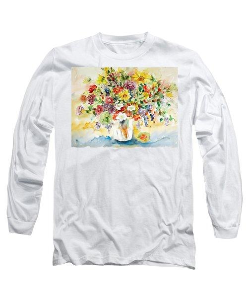 Arrangement IIi Long Sleeve T-Shirt by Alexandra Maria Ethlyn Cheshire