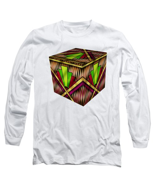 Art Deco 13 Cube Long Sleeve T-Shirt