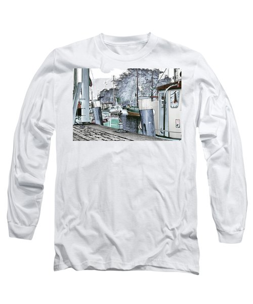 Art Print Boat 2 Long Sleeve T-Shirt