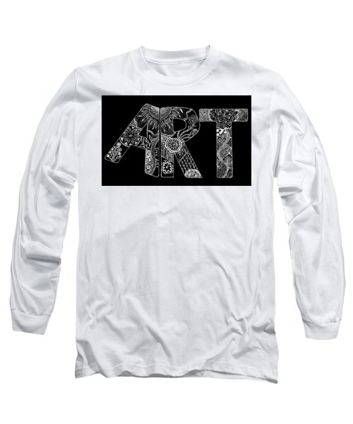 Art Within Art Long Sleeve T-Shirt by Samantha Thome