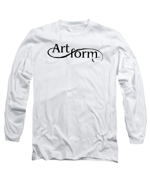 Long Sleeve T-Shirt featuring the drawing Artform by Arthur Fix