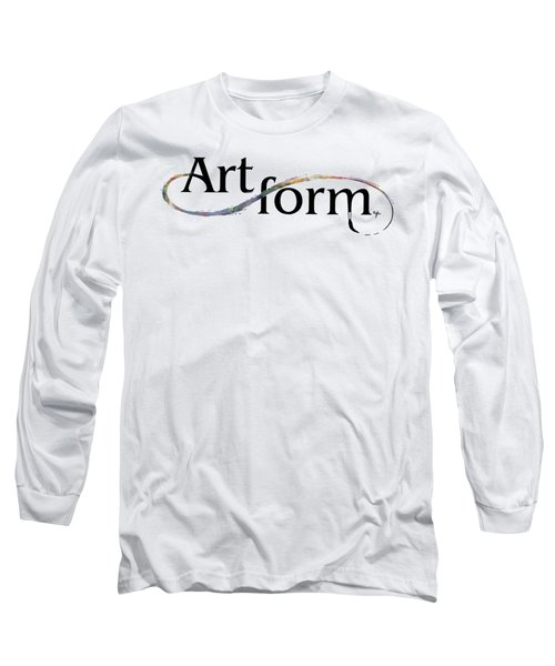 Long Sleeve T-Shirt featuring the drawing Artform02 by Arthur Fix