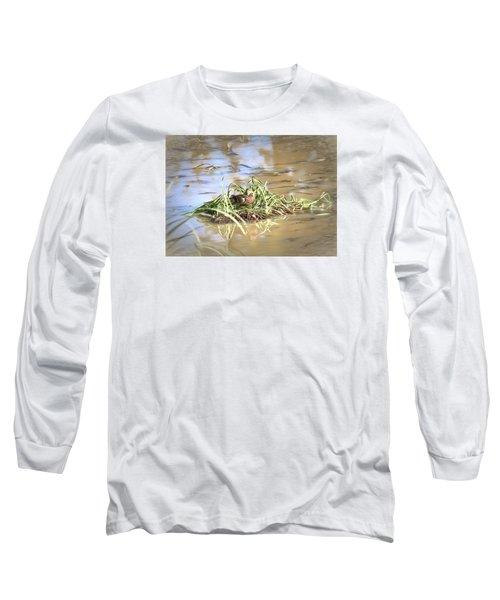 Artistic Lifeguard Long Sleeve T-Shirt by Leif Sohlman