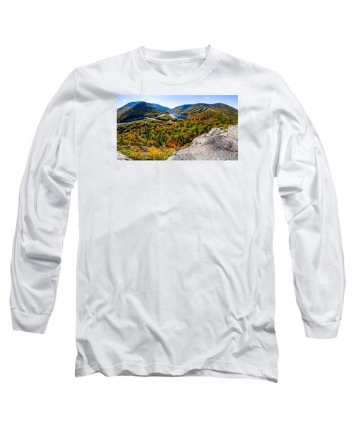 Artists Bluff, Franconia Notch Long Sleeve T-Shirt