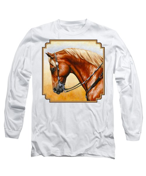 Precision - Horse Painting Long Sleeve T-Shirt
