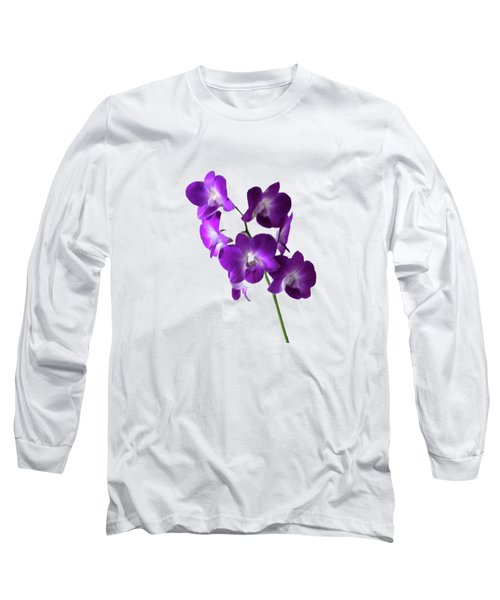 Floral Long Sleeve T-Shirt by Tom Prendergast
