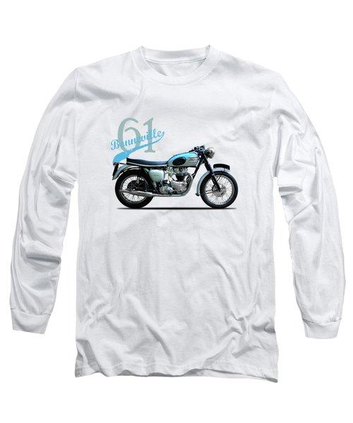 Triumph Bonneville Long Sleeve T-Shirt by Mark Rogan