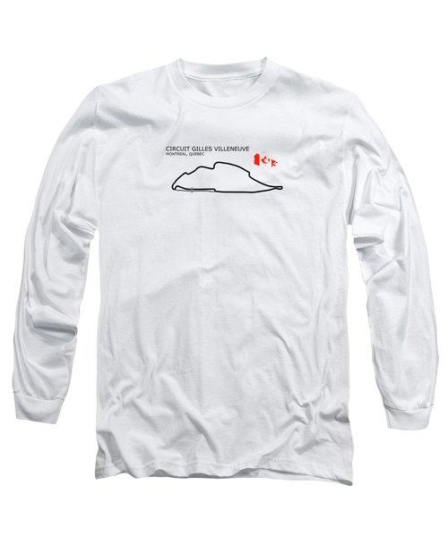 Circuit Gilles Villeneuve Long Sleeve T-Shirt